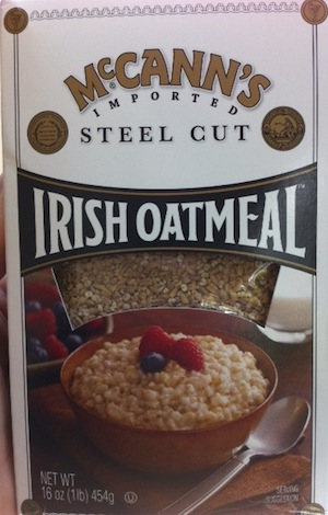 Today: Go Irish with Your Oatmeal