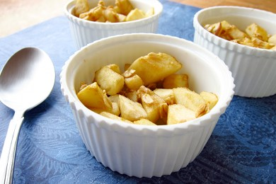 Healthy Apple Crisp: Cute & Yummy