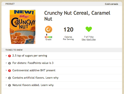 Fun and Nutritious? Kellogg's Crunchy Nut Caramel Nut Cereal Review