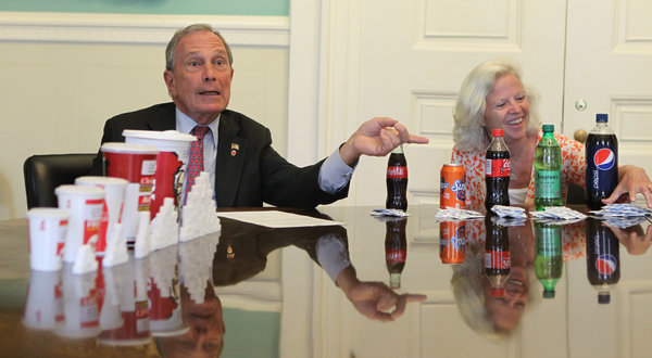 New York Pushes Envelope With XL Soft Drink Ban