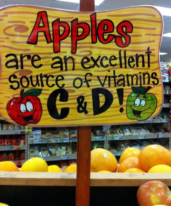 Trader Joe's Nutrition Signage Blooper #2