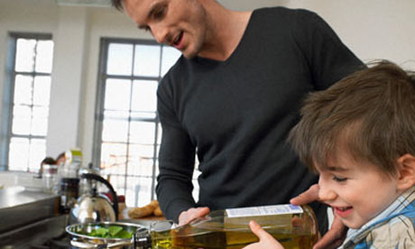 Father-and-son-in-the-kitchen