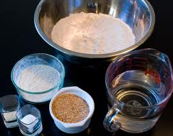 Homemade Bread Ingredients