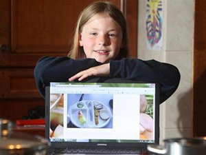 Will This 9 Year Old Girl Change School Lunches?