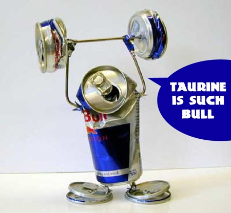 taurine in red bull