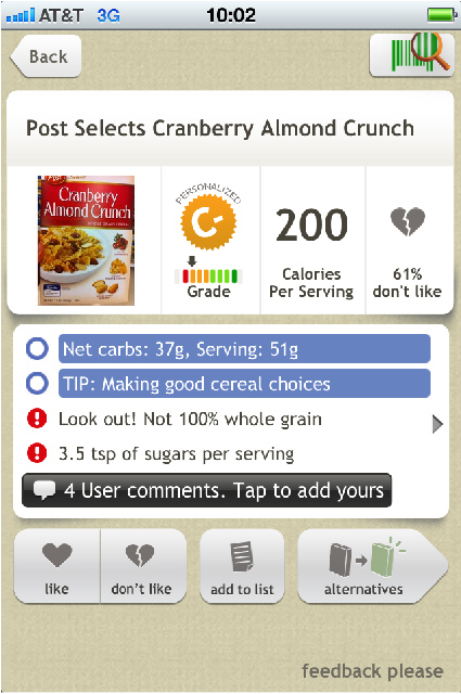 Diabetes App Product Screenshot