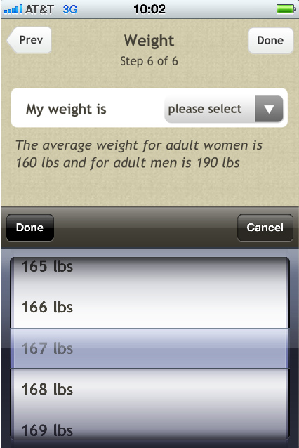Fooducate Diabetes App Weight