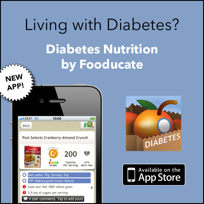 Diabetes App by Fooducate
