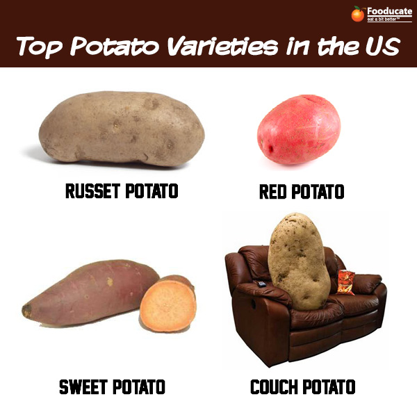Top Potato Varieties in the US