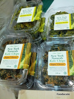 New York Natural's Kale Chips