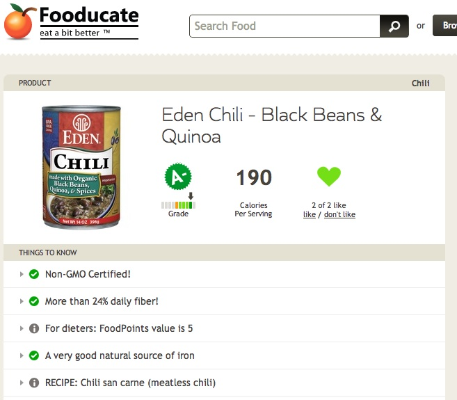 Fooducate Now Provides GMO Info on Over 200,000 Products !