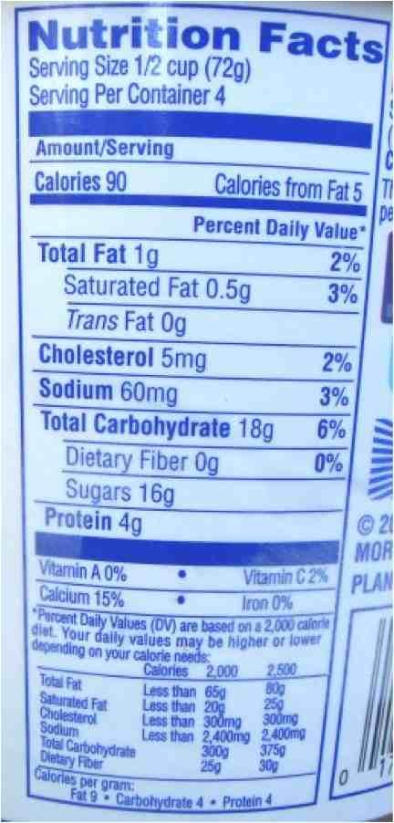 Kefir nutrition facts