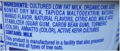 kefir ingredients