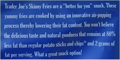 trader joes fries