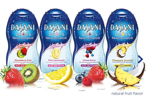 Dasani Drops. Flavor Enhancer. Health Reducer