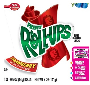 Coming Soon: Improved Labeling for Fruit Roll-Ups