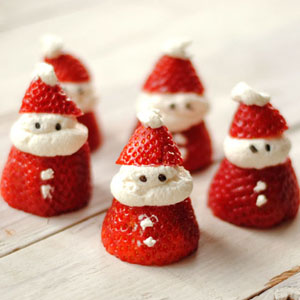 Strawberry Santa