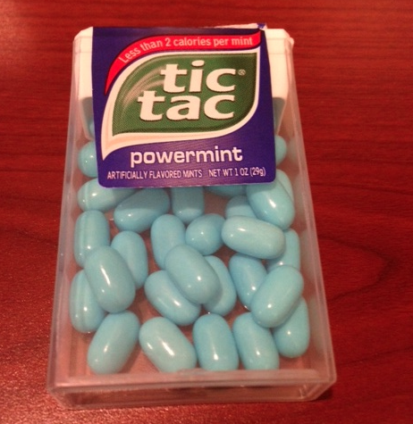 Blue Pill, Red Pill: What's in a Tic Tac Mint?