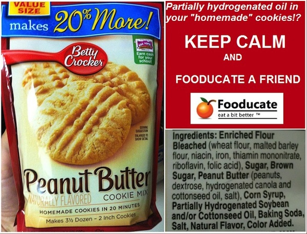 Dear Betty Crocker &#8211; Why are You Baking with Artifical Trans-Fats?