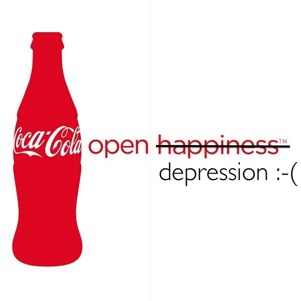 Coca-Cola-Open-Happiness or Depression