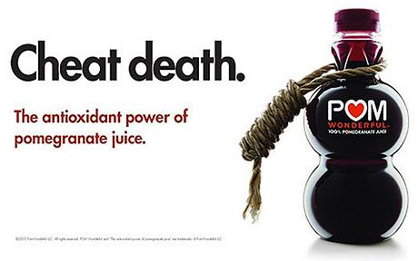 POM Cheat Death Ad