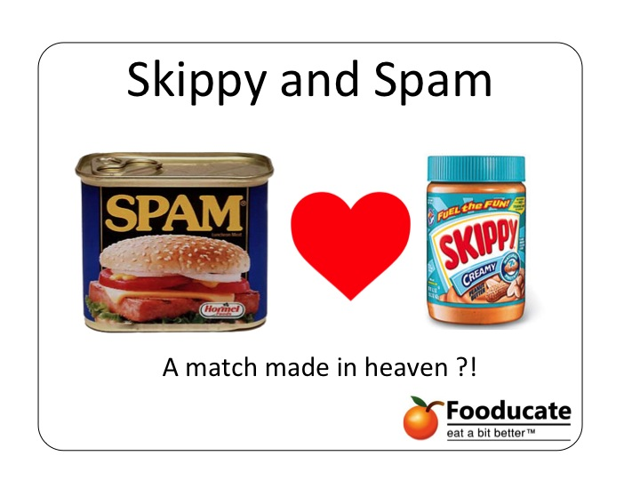 New &#8220;SKAM&#8221; Product Soon?  Hormel (Spam) buys Skippy (Peanut Butter)