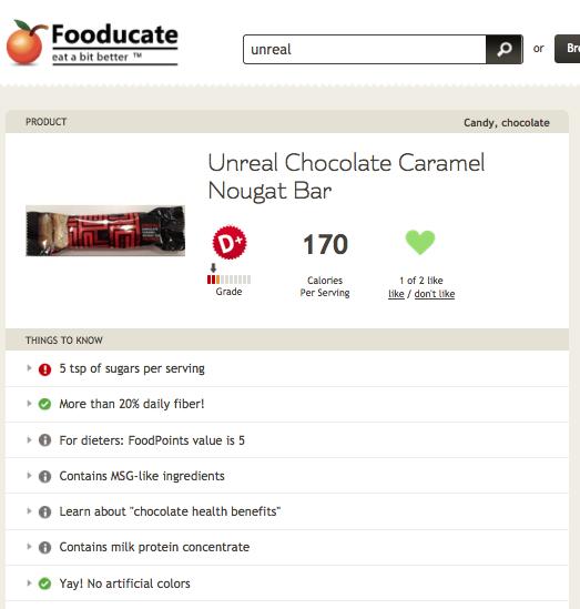 Unreal Chocolate Caramel Nougat Bar
