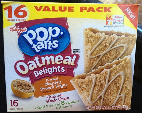 Oatwashing: Inside the Label of Pop Tarts Oatmeal Delights | Fooducate