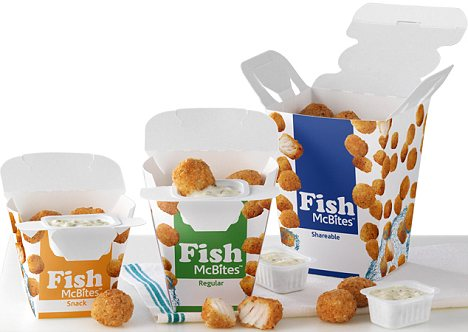 McDonald's McNuggets 2.0: Fish McBites