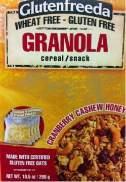 Misadventures in Labeling &#8211; Gluten Free Granola