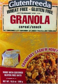 Misadventures in Labeling – Gluten Free Granola