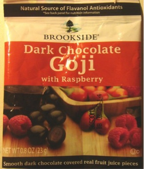 Brookside Dark Chocolate Goji