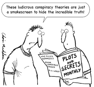 conspiracy theory comic
