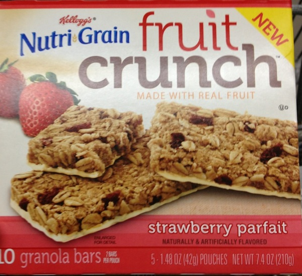 Nutrigrain Fruit Crunch