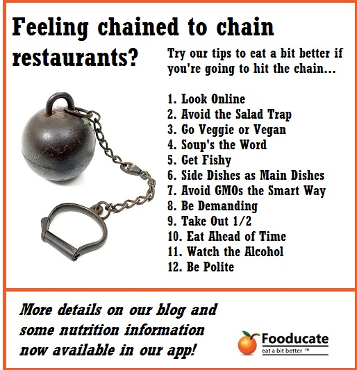 Chain Restaurant Nutrition: 12 Easy Ways to Less Unhealthy