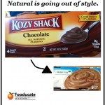 Product & Label Evolution: Kozy Shack Chocolate Pudding as an Example