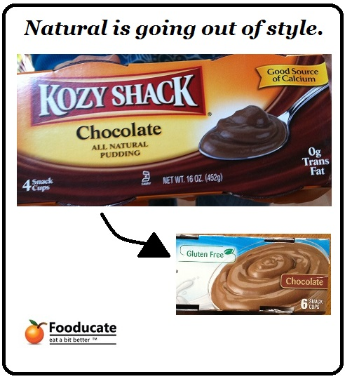 Product &#038; Label Evolution: Kozy Shack Chocolate Pudding as an Example