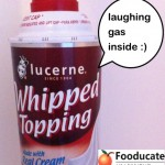 What is Laughing Gas Doing In My Whipped Cream?