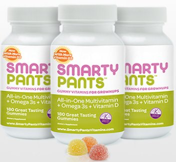 SmartyPants Gummy Vitamins for Adults. Seriously?