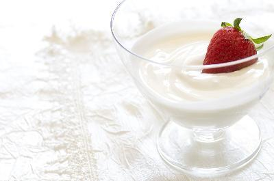 Low fat plain yogurt