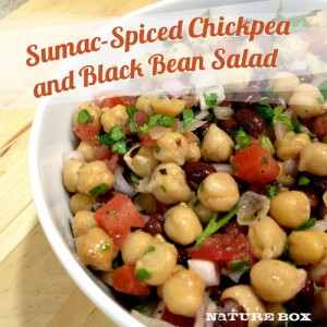 Recipe: Sumac-Spiced Chickpea and Black Bean Salad