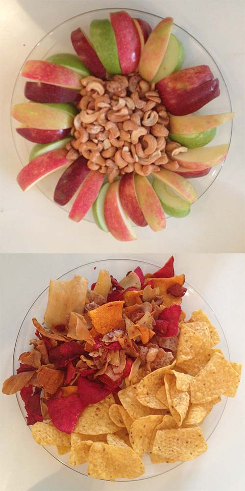 Two Snack Plates – Which Would You Choose?