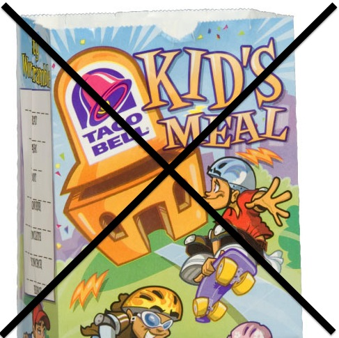 Goodbye Taco Bell Kid's Meal