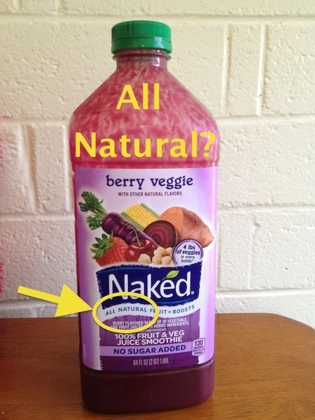 "Why Is Naked Juice Removing ""All Natural"" from Its Product Labels ...: blog.fooducate.com/2013/07/24/why-is-naked-juice-removing-all..."