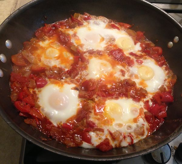 Brunch Today? Try Shakshuka Eggs in Rich Tomato Sauce