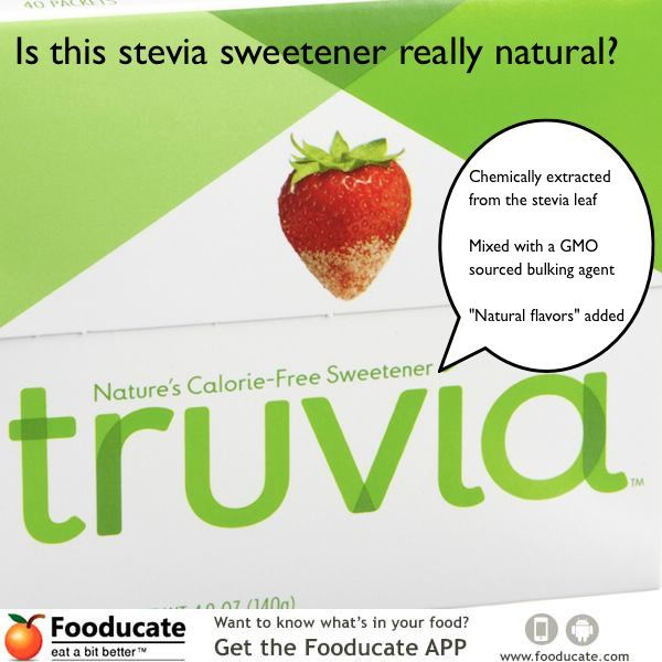 Stevia may not be so natural