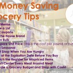 12 Money Saving Grocery Tips