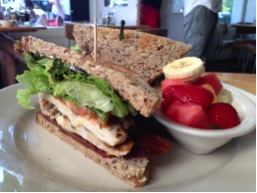 Grilled Chicken Club Sandwich - Babette's