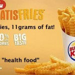 All Hail Nutritious Fast Food? Burger King Announces Healthier Fries