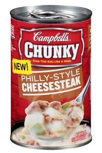 Campbell's Chunky Philly-Style Cheesesteak Soup